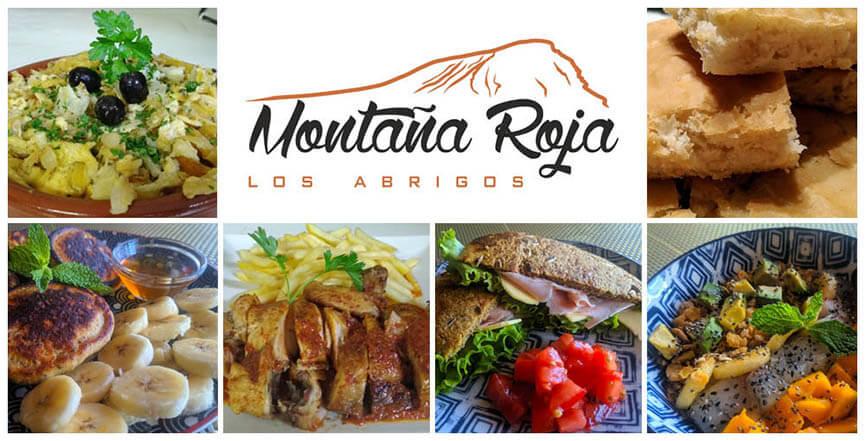 Platos del restaurante Montaña Roja